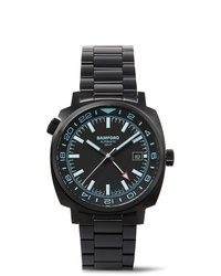 Мужские черные керамические часы от Bamford Watch Department