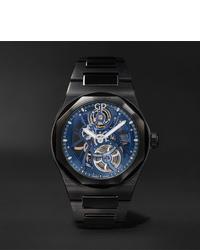 Мужские черные керамические часы от Girard Perregaux