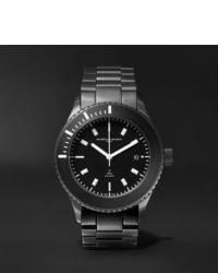 Мужские черные керамические часы от Maurice de Mauriac