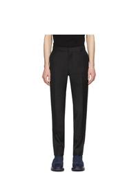 Мужские черные классические брюки от Alexander McQueen