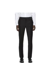 Мужские черные классические брюки от Fendi
