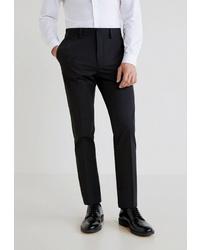 Мужские черные классические брюки от Mango Man