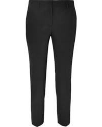 Женские черные классические брюки от Prada