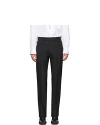 Мужские черные классические брюки от Random Identities