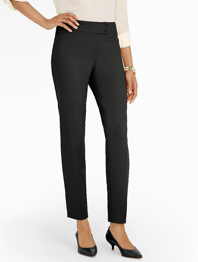 Женские черные классические брюки от Talbots   Где купить и с чем носить 1e45ce10578