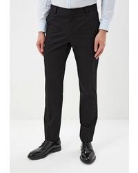 Мужские черные классические брюки от Trussardi
