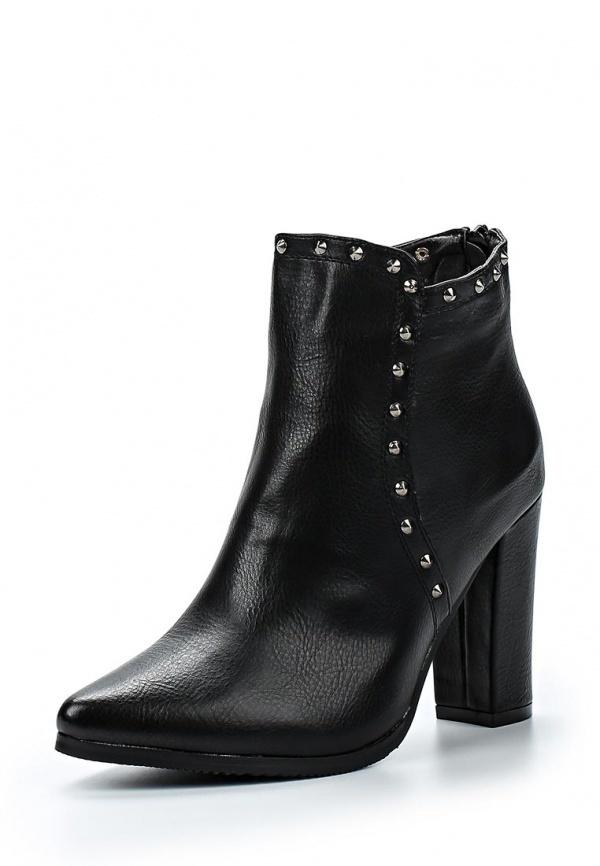 Черные кожаные ботильоны от Bellamica