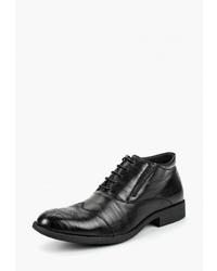 Черные кожаные ботинки броги от Go.Do.