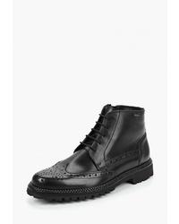 Черные кожаные ботинки броги от Lloyd