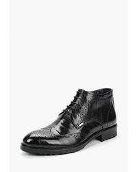 Черные кожаные ботинки броги от Vera Victoria Vito