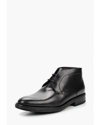 Черные кожаные ботинки дезерты от BLT Baltarini
