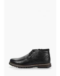 Черные кожаные ботинки дезерты от Brado