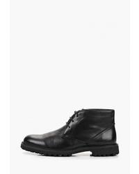 Черные кожаные ботинки дезерты от M.Shoes