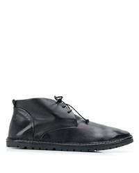 Черные кожаные ботинки дезерты от Marsèll