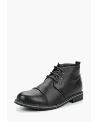 Черные кожаные ботинки дезерты от T.Taccardi