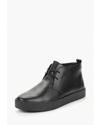 Черные кожаные ботинки дезерты от Vagabond