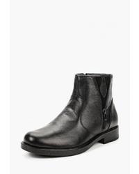 Мужские черные кожаные ботинки челси от Airbox