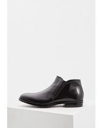 Мужские черные кожаные ботинки челси от Aldo Brué