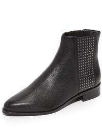 Женские черные кожаные ботинки челси от Diane von Furstenberg
