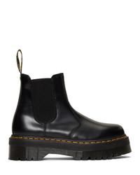 Мужские черные кожаные ботинки челси от Dr. Martens