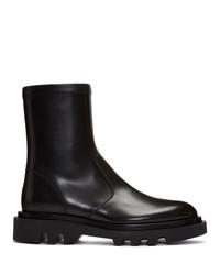 Мужские черные кожаные ботинки челси от Givenchy