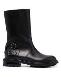 Мужские черные кожаные ботинки челси от Jimmy Choo