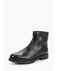 Мужские черные кожаные ботинки челси от Ralf Ringer