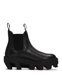 Мужские черные кожаные ботинки челси от S.R. STUDIO. LA. CA.