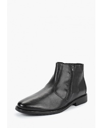 Мужские черные кожаные ботинки челси от Salamander