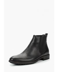 Мужские черные кожаные ботинки челси от Tamboga