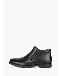 Мужские черные кожаные ботинки челси от Westfalika