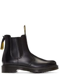 Женские черные кожаные ботинки челси от Y's