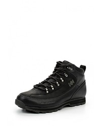Мужские черные кожаные ботинки от Helly Hansen