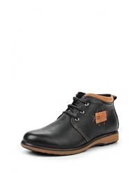 Мужские черные кожаные ботинки от iD active