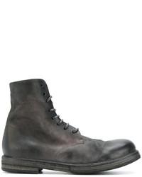 Мужские черные кожаные ботинки от Marsèll