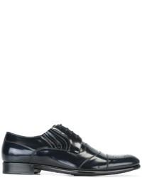 Черные кожаные броги от Dolce & Gabbana