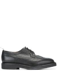 Черные кожаные броги от Thom Browne
