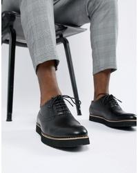 Черные кожаные броги от Truffle Collection