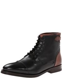 Черные кожаные классические ботинки