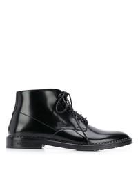 Мужские черные кожаные классические ботинки от Dolce & Gabbana