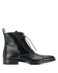 Мужские черные кожаные классические ботинки от Scarosso