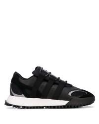 Мужские черные кожаные кроссовки от Adidas Originals By Alexander Wang
