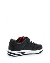 Мужские черные кожаные кроссовки от Ascot