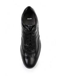 Мужские черные кожаные кроссовки от Bata