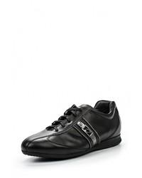 Мужские черные кожаные кроссовки от GUARDIANI SPORT