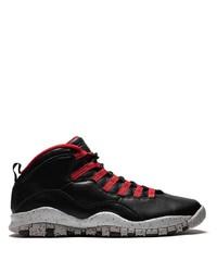 Мужские черные кожаные кроссовки от Jordan