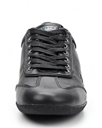 Мужские черные кожаные кроссовки от Levi's