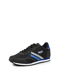 Мужские черные кожаные кроссовки от Lonsdale