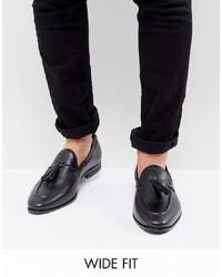 Черные кожаные лоферы с кисточками от Kg Kurt Geiger