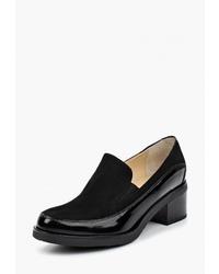 Женские черные кожаные лоферы от Argo